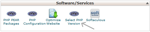 cpanel-select-php-ver