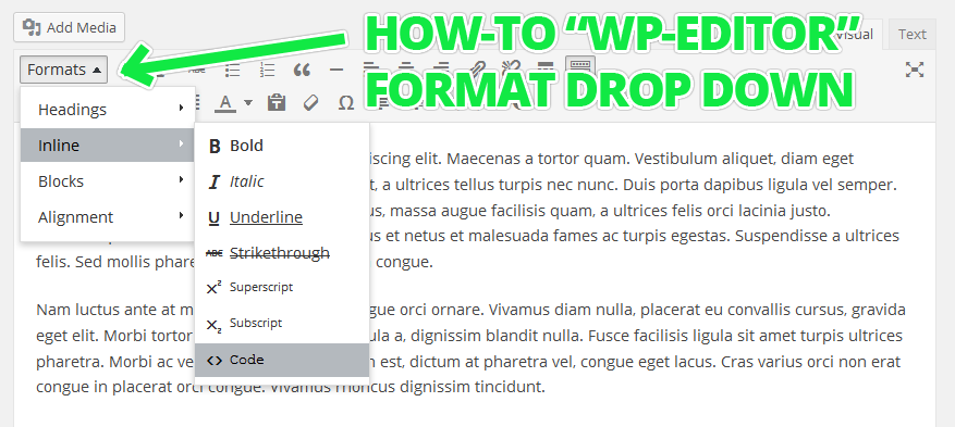 how-to-wp-editor-format-drop-down