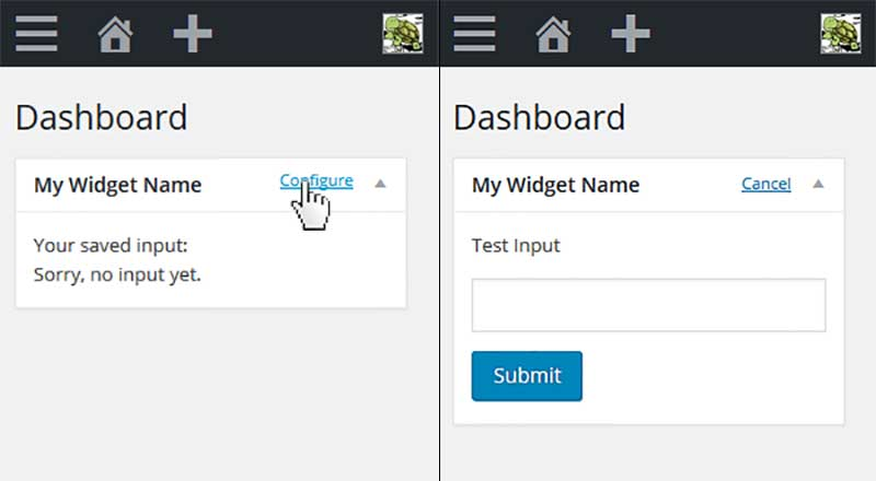 WP-Dashboard-Widget-Options
