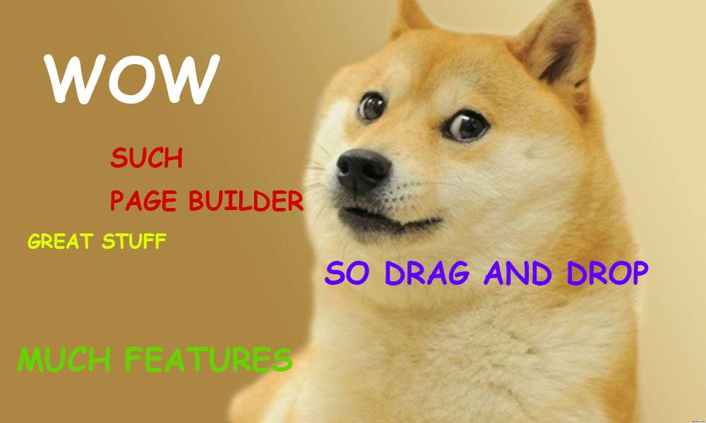 doge-meme-page-builder
