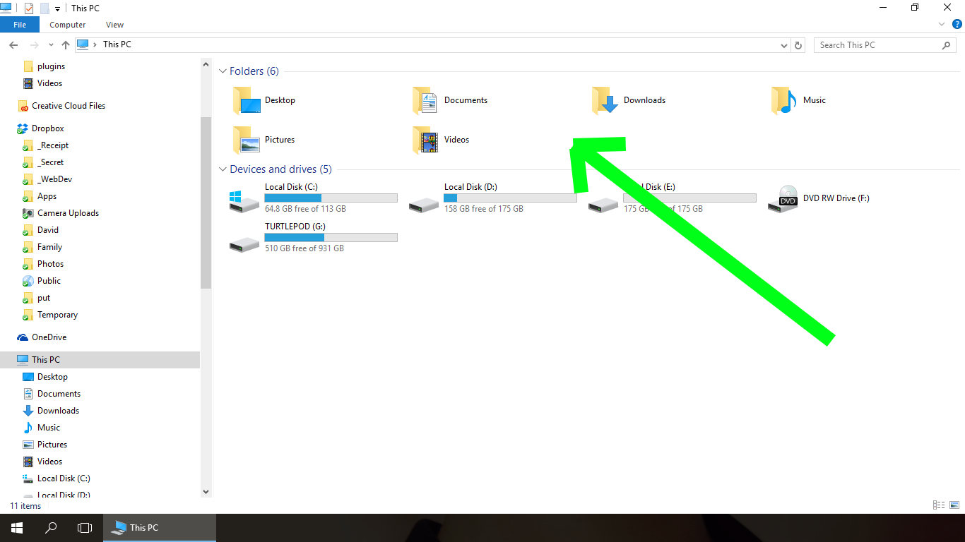user-folders-windows-10