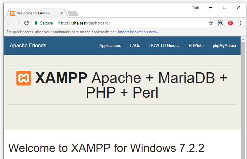How to Create Valid SSL in localhost for XAMPP