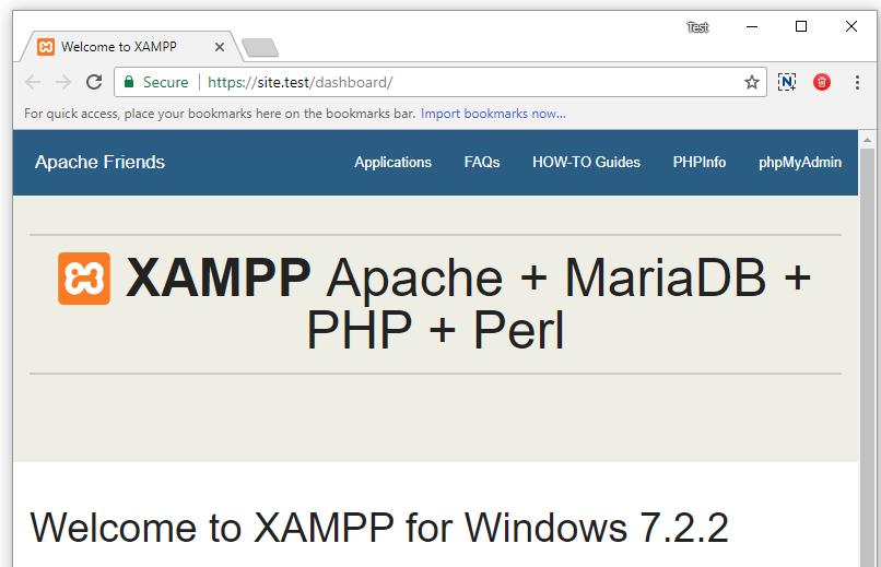 How to Create Valid SSL in localhost for XAMPP – Shellcreeper com